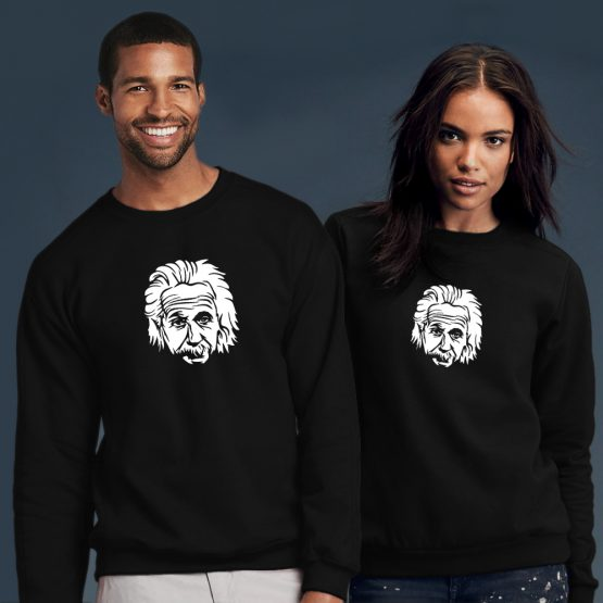 Albert Einstein sweater head