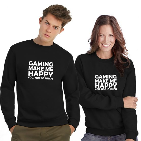 Gaming sweater Make Me Happy
