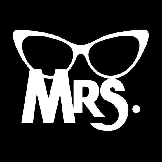 Mr Mrs shirt bril