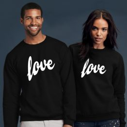 Valentijn sweater Love