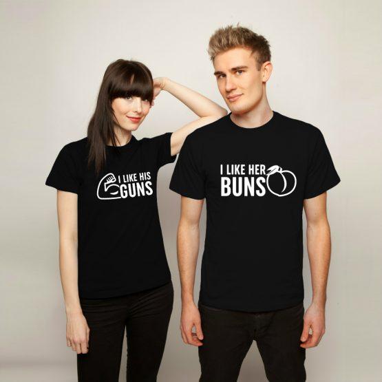 Valentijnsdag Shirt Buns Guns