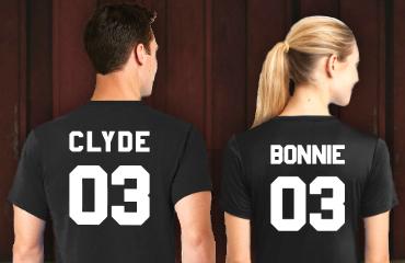 Bonnie Clyde kleding