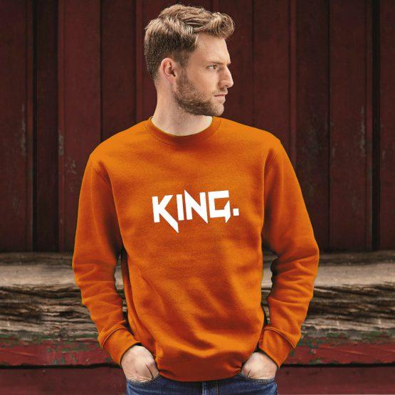 Koningsdag Trui Stoer