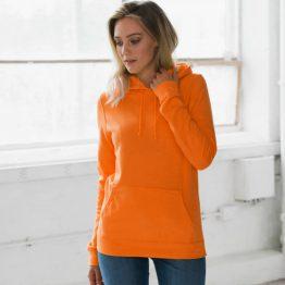 Koningsdag hoodie oranje dames