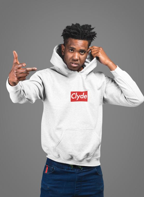 Clyde hoodie supreme