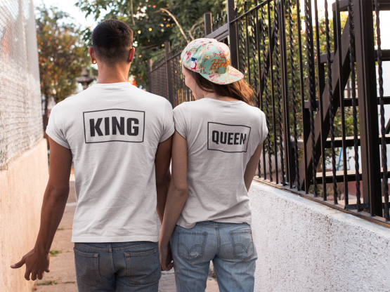 King Queen Shirts Box Back 2