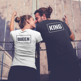 King Queen Shirts Box Back