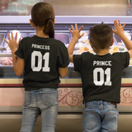 Prince Princess 01 shirts