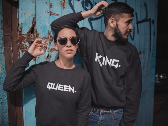 King & Queen Tuff Sweater