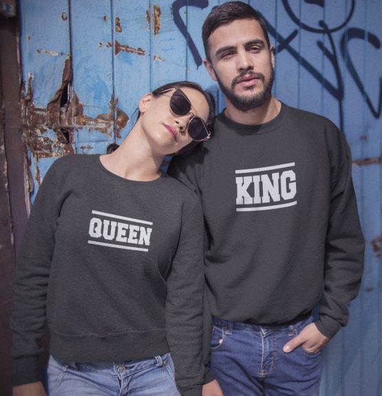 King Queen sweater stripes 2