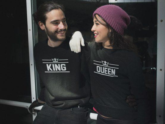 King Queen trui thrice