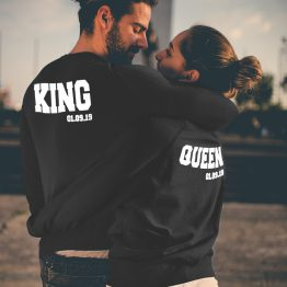 King Queen trui met datum 2