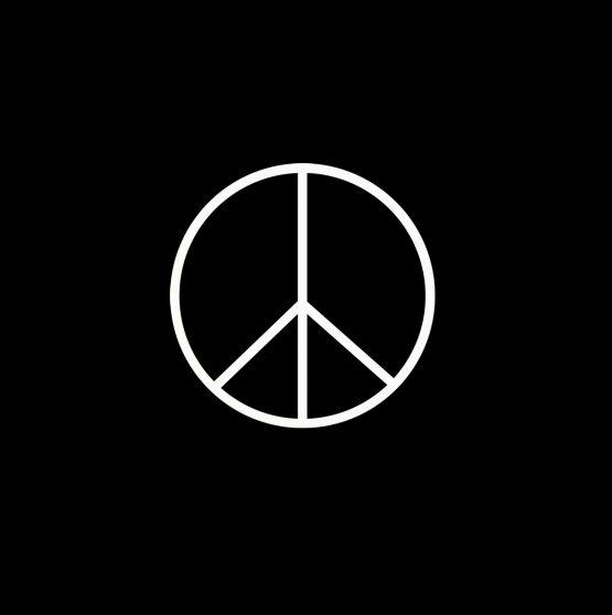 Peace sweater opdruk 2