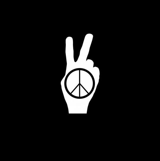 Peace sweater opdruk 3