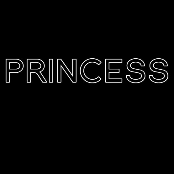 Princess Opdruk Outline