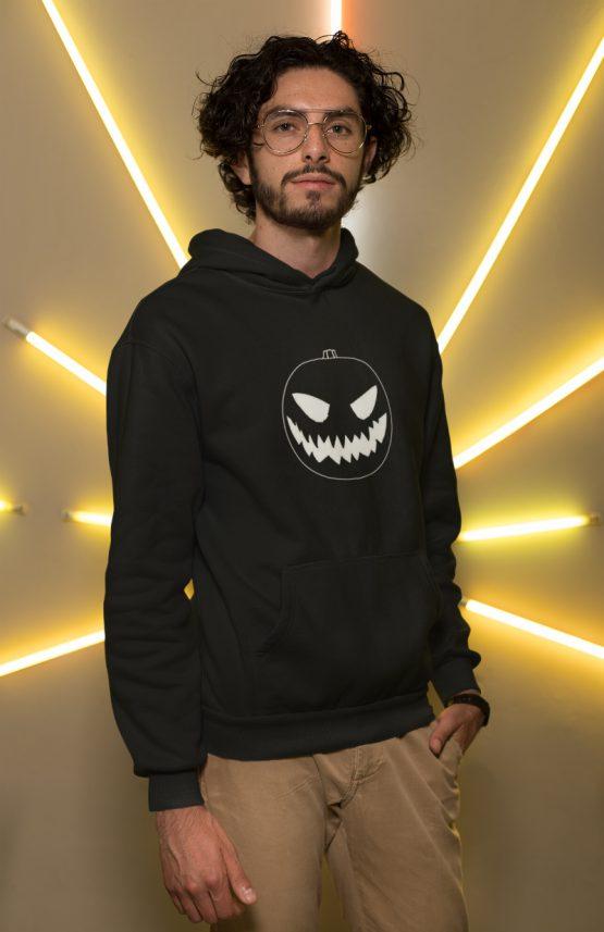 Halloween hoodie Pompoen