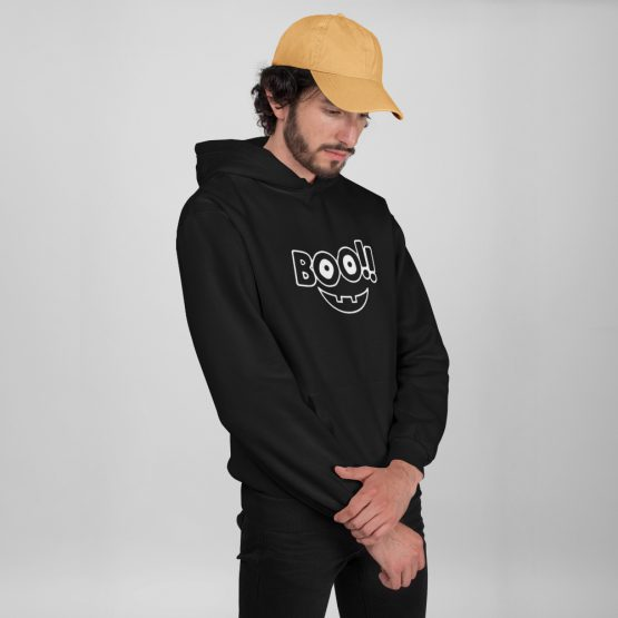 Halloween hoodie boo 2