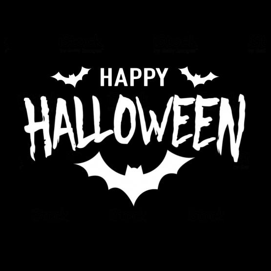 Happy Halloween opdruk