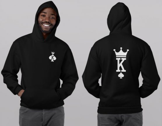 King Queen hoodies Set Premium Cards 2