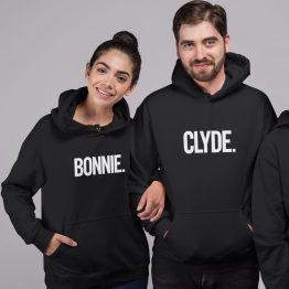 Bonnie Clyde Hoodies