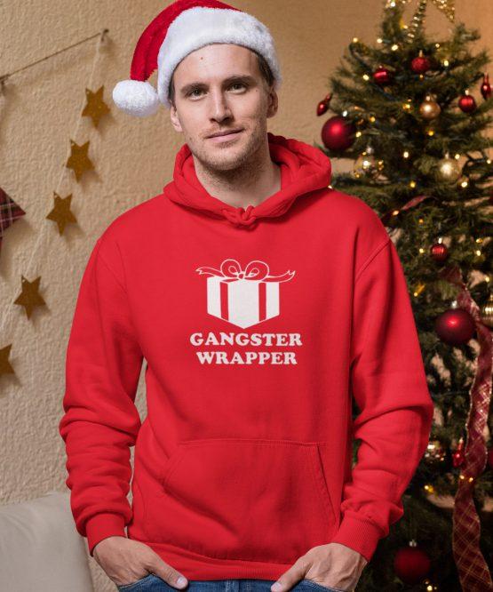 Kerst Hoodie Gangster wrapper