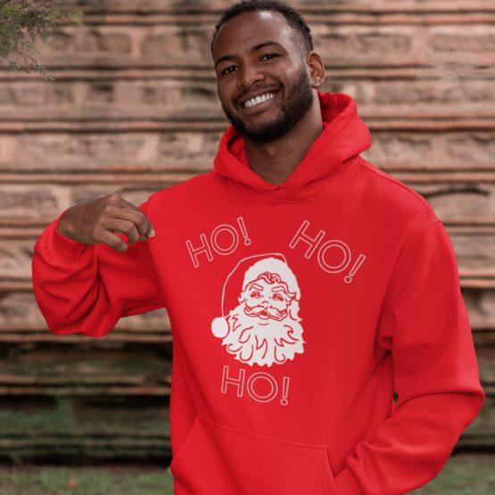 Kerst Hoodie Ho Ho Ho