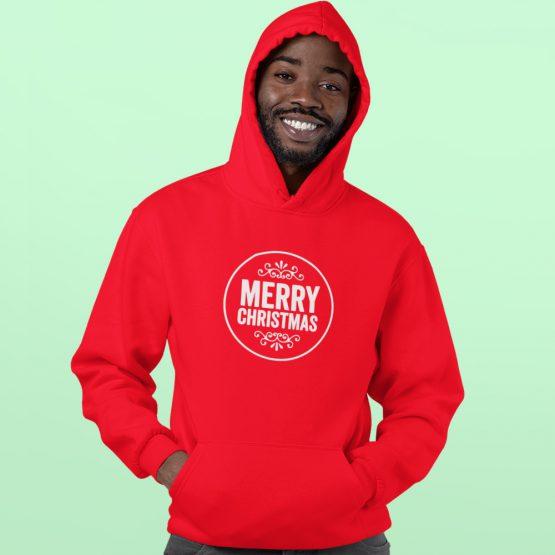 Kerst Hoodie Premium Merry Christmas
