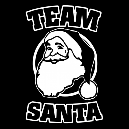 Kerst Kleding Opdruk Team Santa