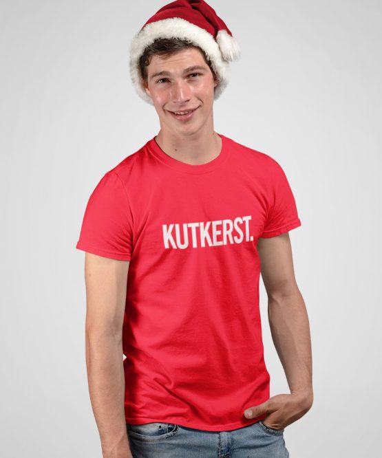 Kerst T-shirt Kutkerst