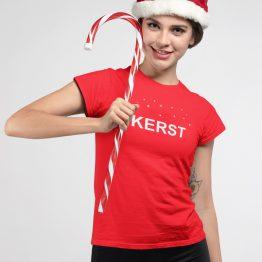 Kerst T shirt Nu