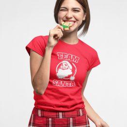 Kerst T-shirt Team Santa