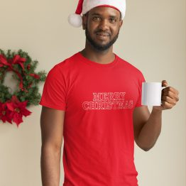 Kerst T-Shirt Merry Christmas 2