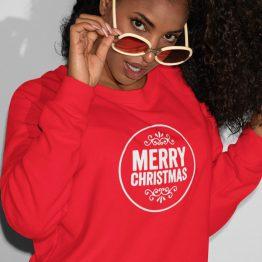 Kersttrui Merry Round Best