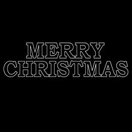 Merry Christmas Kersttrui opdruk