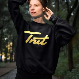 Trut Sweater Premium Gold Black