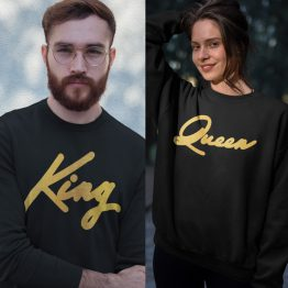 King Queen Trui Premium Gold