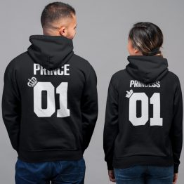Prince 01 Princess 01 Hoodies