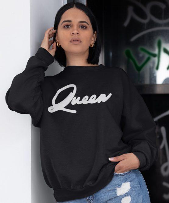 Queen Trui Premium Black