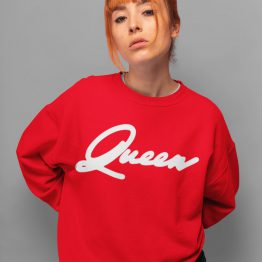 Queen Trui Premium Red