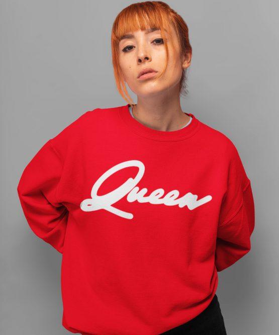 Queen Trui Premium Red