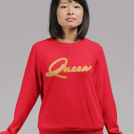 Queen Trui Premium Red Gold