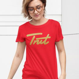 Trut T-Shirt Red Gold