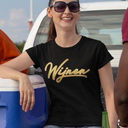 wijnen T-Shirt Black Gold