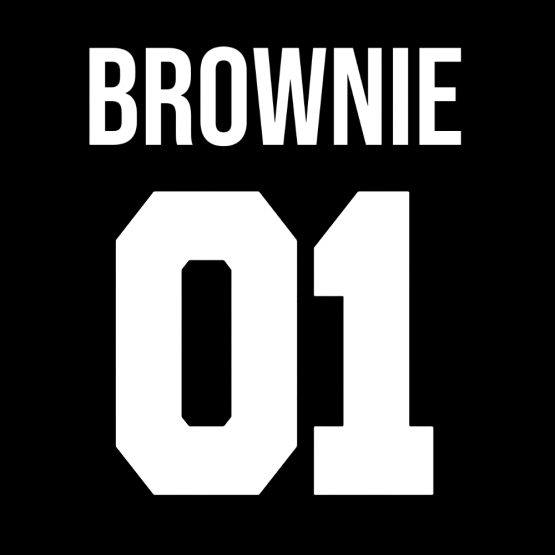 Brownie 01 Opdruk