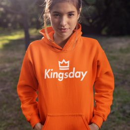 Koningsdag Hoodie Kingsday Crown