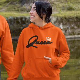 Koningsdag Hoodie Queen Premium