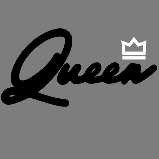 Koningsdag Queen Premium Opdruk