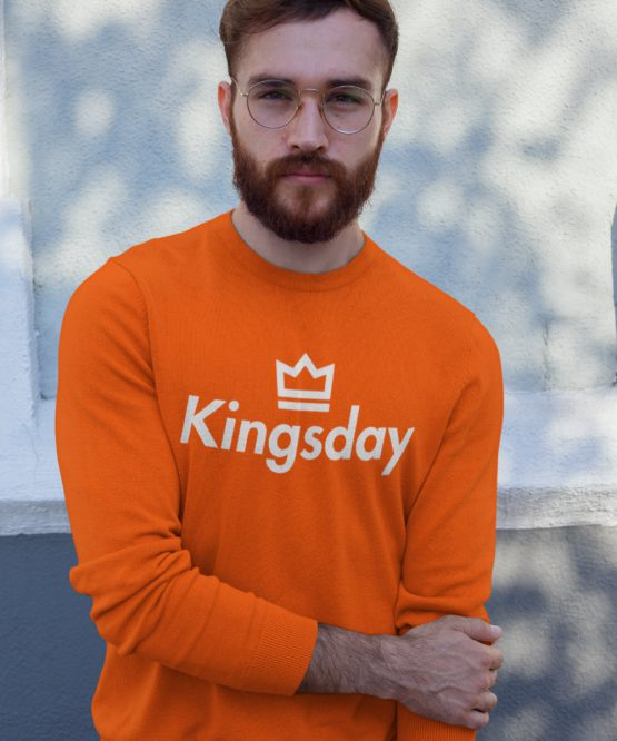 Koningsdag Trui Kingsday Crown