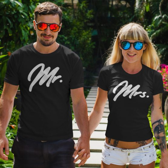 Mr Mrs T-Shirt Premium