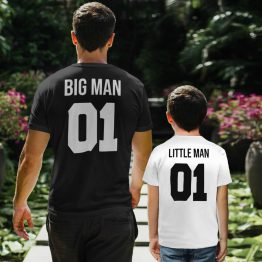 Vader Zoon T-Shirt Big Man Little Man 6